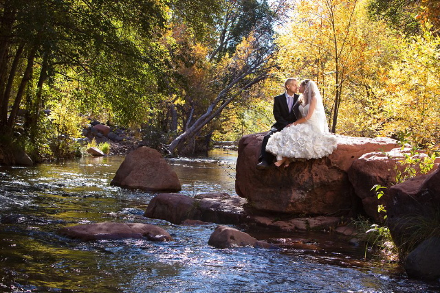L'Auberge de Sedona's 'Intimate Wedding Package'