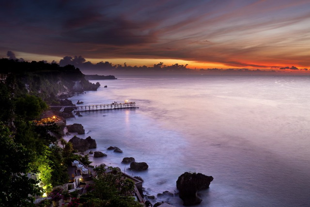 At AYANA Resort And Spa Bali, Perched On A Clifftop In Jimbaran Bay, Love Soars To New Heights