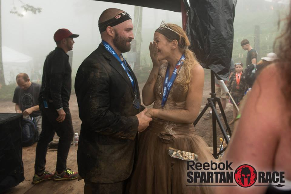 Jen and Steve's Story: Married in Mud