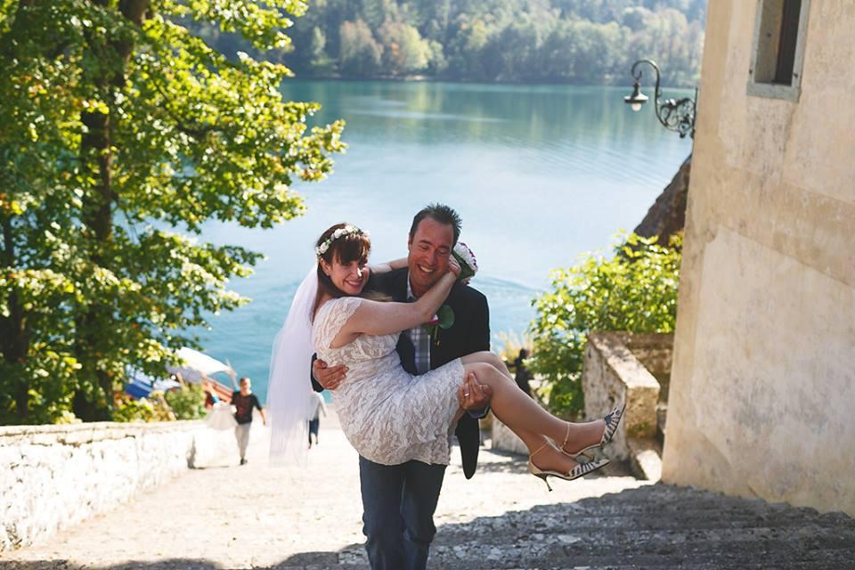 Fairy Tale Wedding in Bled Castle, Slovenia