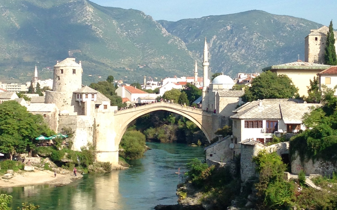Getting Married in Mostar (Bride Behaving Badly)