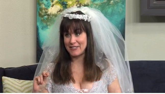 Morgana on FOX in Albuquerque… talking about saving Money with Destination Weddings