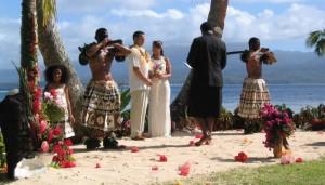 Qamea wedding