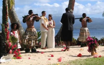 Weddings at Qamea Resort and Spa